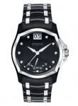 Wittnauer Men's Monserrat Black Dial Two Tone Watch 12D106