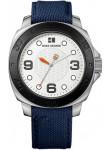 Hugo Boss Orange Men's Silver Dial Blue Canvas Watch 1512667