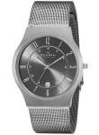 Skagen Men's Titanium Grey Dial Watch 233XLTTM