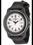 Victorinox Swiss Army Original XL  White Dial Black Nylon Strap Watch 249086