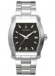 Bulova Accutron Men's Oxford Black Dial Watch 26B082