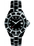 Accutron Men's Mirador Black Dial Two Tone Watch 28B87