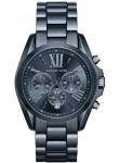 Michael Kors Unisex Bradshaw Chronograph Blue Dial Oversized Watch MK6248