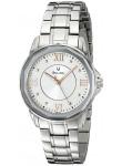 Bulova Women's Silver Dial Stainless Steel Watch 96L172