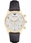 Emporio Armani Men's Chronograph White Dial Watch AR1892