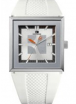 Hugo Boss Orange Men's White Dial White Silicone Watch 1512706