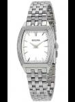 Bulova Women's Diamond Stainless Steel Watch 96R196