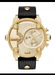Diesel Men's Black Dial Champagne Dial Watch DZ7363