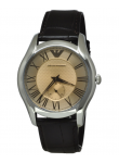 Emporio Armani Men's Brown Leather Watch AR1704