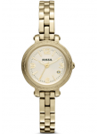 Fossil Women's Champagne Dial Gold tone Watch ES3194
