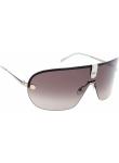 Carrera Unisex Aviator Half-Rim Brown Light Gold Tone Sunglasses CARRERA 37 3YG/JD