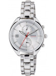 Fossil Women's CH2975 Land Racer Silver Stainless-Steel Quartz Watch