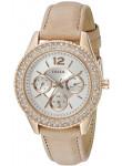 Fossil Women's Stella Cream Leather Strap Watch ES3816