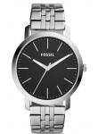 Fossil Men's Black Dial Stainless Steel Watch BQ2312