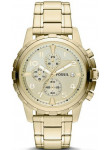 Fossil Men's Dean Chronograph Gold-tone Watch FS4867