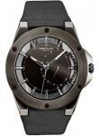 Kenneth Cole Men's New York Transparency Dial Black Leather Watch 10030785