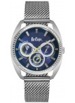 Lee Cooper Men's Chronograph Blue Dial Stainless Steel Watch LC06663.390
