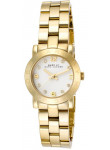 Marc by Marc Jacobs Women's Women's Amy White Dial Gold Tone Watch MBM3057