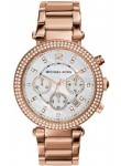 Michael Kors Women's Parker Chronograph Mother of Pearl Dial Watch MK5491