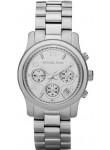 Michael Kors Women's Runway Chronograph Silver Tone Watch MK5076