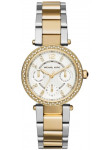 Michael Kors Women's Mini Parker Two Tone Watch MK6055
