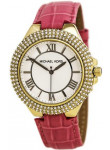 Michael Kors Women's White Dial Pink Leather Watch MK2329