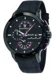 Maserati Men's Ingegno Tachymeter Chronograph Black Dial Watch R8871619003