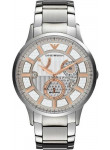 Emporio Armani Men's Meccanico Automatic Stainless Steel Watch AR4668