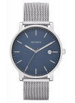 Skagen Men's Hagen Blue Dial Stainless Steel Mesh Bracelet Watch SKW6327