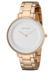 Skagen SKW2331 Ditte Silver Dial Rose Gold-tone Stainless Steel Ladies Watch