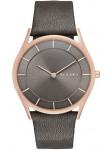 Skagen Women's Holst Grey Leather Watch SKW2346