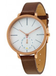 Skagen Women's Hagen Brown Leather Watch SKW2356