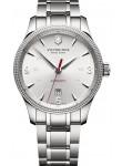 Victorinox Men's Alliance Automatic White Dial Stainless Steel Watch 241715