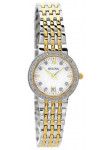 Bulova Women's Mother Of Pearl Dial Two Tone Watch 98W211
