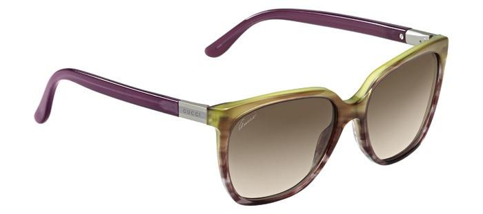 a7333bf0540 Gucci Women s Cat Eye Full Rim Multi Havana Sunglasses GG 3502 S WQY CC