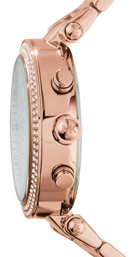 d100073bd8a7 Michael Kors Women s Parker Chronograph Mother of Pearl Dial Watch MK5491